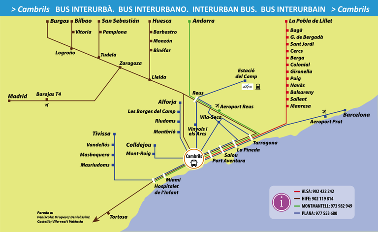 Bus Interurbà