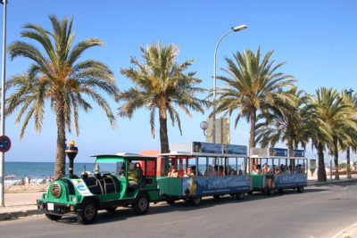 Cambrils' tourist train