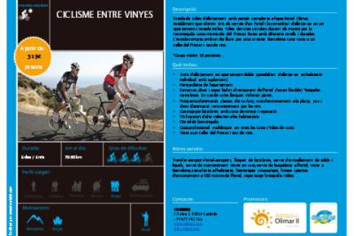 ciclisme entre vinyes olimar II